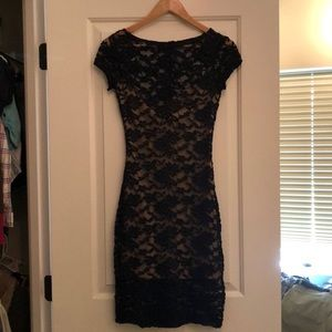 B. darlin black lace dress